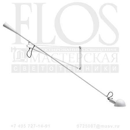 265 EUR 75W BCO A0300009 белый, Flos