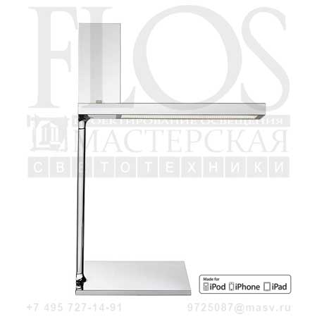 "D""E-LIGHT 8 PIN EUR-USA CRO F0028057 хром, Flos"