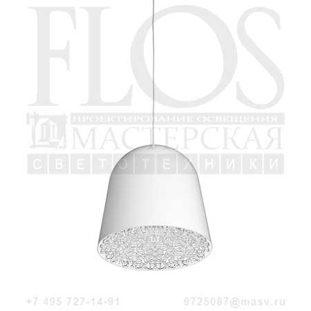 CAN CAN EUR BCO/FREGIO TRASP. F1552009 белый прозрачный, Flos