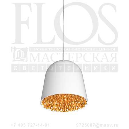 CAN CAN EUR BCO/FREGIO AMBRA F1553009 белый янтарь, Flos