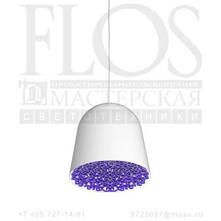 CAN CAN EUR BCO/FREGIO VIOLA F1554009 белый фиолетовый, Flos