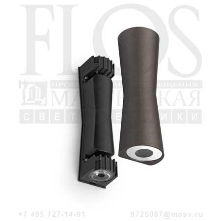 CLESSIDRA 40° EUR MAR F1584026 темно-коричневый, Flos
