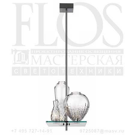 CICATRICES DE LUXE 3 CM110 EUR F1640000 матовый никель, Flos