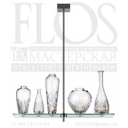 CICATRICES DE LUXE 5 CM110 EUR F1643000 матовый никель, Flos