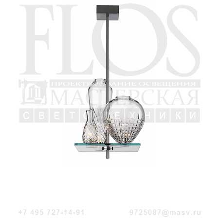 CICATRICES DE LUXE 3 CM 80 EUR F1650000 матовый никель, Flos