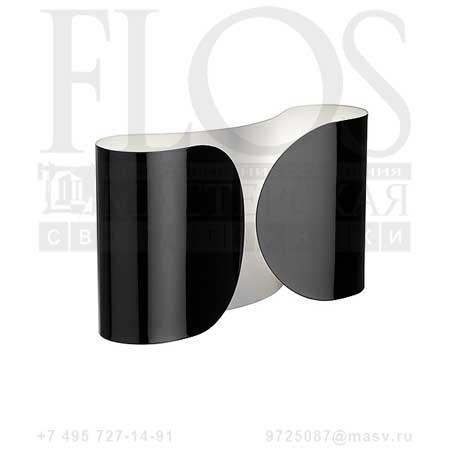 FOGLIO EUR NRO F2400030 блестящий черный, Flos