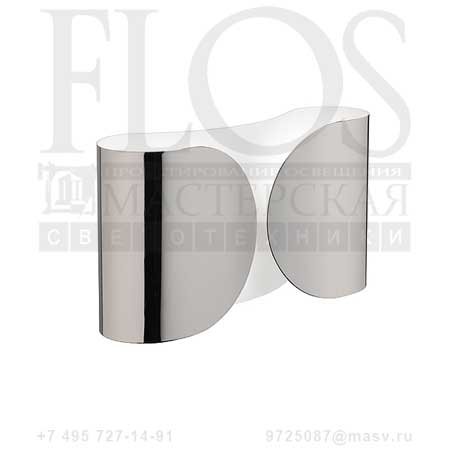 FOGLIO EUR CROMO F2400057 хром, Flos