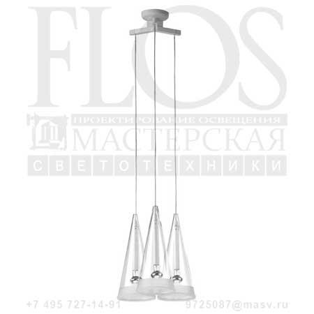 FUCSIA 3 EUR F2411000 стекло, Flos