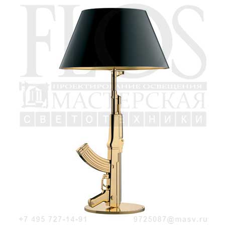 TABLE GUN EUR ORO LUC. F2954000 блестящий золото 18К, Flos