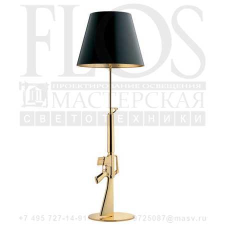 LOUNGE GUN EUR ORO LUC. F2955000 блестящий золото 18К, Flos