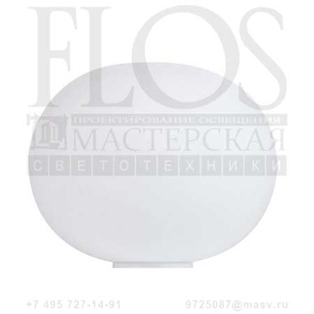 GLO-BALL BASIC 1 EUR F3021000 белый, Flos