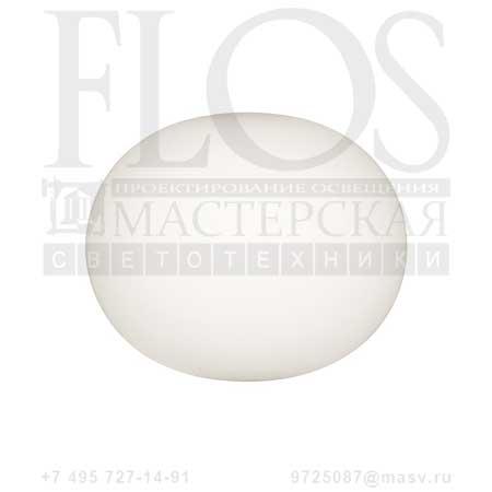 GLO-BALL W1 EUR F3022000 белый, Flos