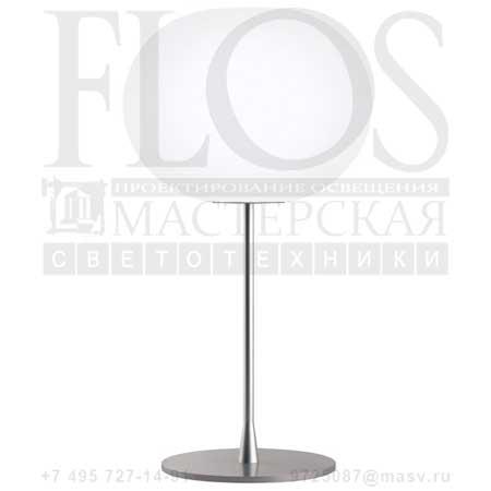 GLO-BALL T2 EUR GRI F3025000 матовое серебро, Flos