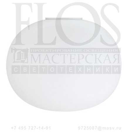 GLO-BALL C2 EUR F3028000 белый, Flos