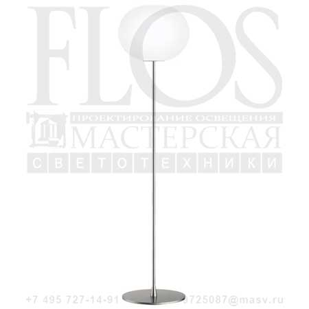 GLO-BALL F3 EUR GRI F3030000 матовое серебро, Flos