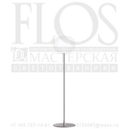 GLO-BALL F1 EUR GRI F3031020 матовое серебро, Flos