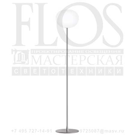 GLO-BALL F2 EUR GRI F3032020 матовое серебро, Flos