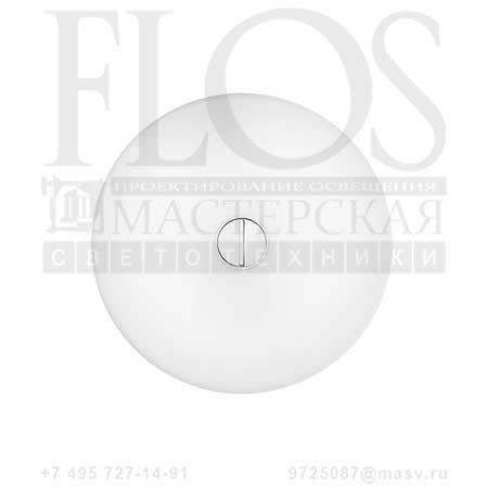 BUTTON EUR OPAL/OPAL F3180009 белый, Flos