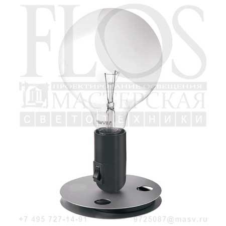 LAMPADINA EUR F3300000 анодированный алюминий/черный, Flos