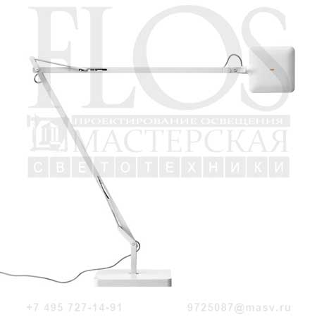 KELVIN LED GREEN MODE C/BASE BCO F3311009 блестящий белый, Flos