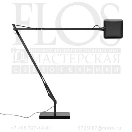 KELVIN LED GREEN MODE C/BASE NRO F3311030 блестящий черный, Flos