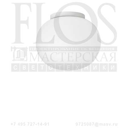 GLO-BALL C/W ZERO EUR BCO F3335009 белый, Flos