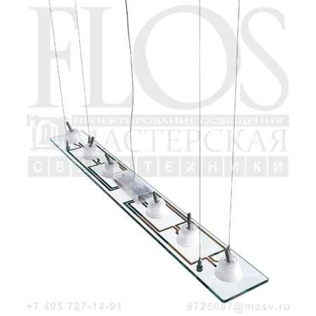 LASTRA 6 EUR F3361000 стекло, Flos