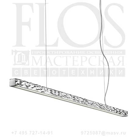 LONG & HARD S LED EUR ALL.LUC. F3380050 алюминий, Flos