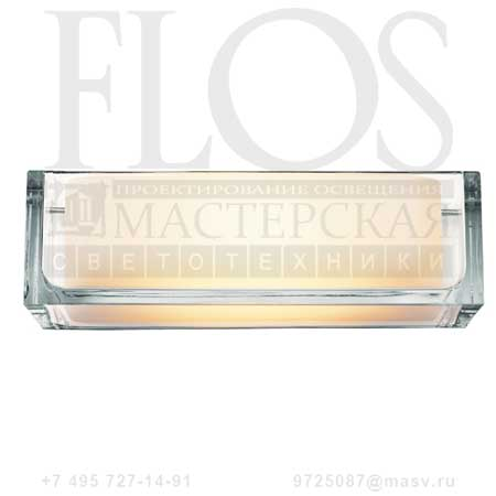 ONTHEROCKS 1 HL EUR TRASP F4651000 стекло, Flos