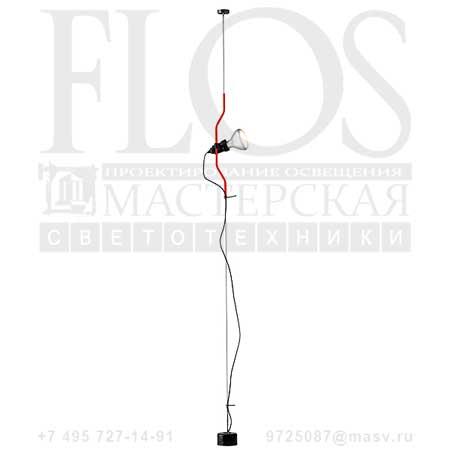 PARENTESI EUR RSO F5400035 красный, Flos