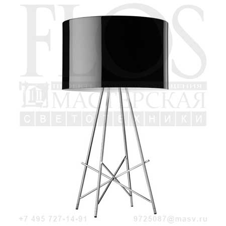 RAY T DIM EUR C/DIFF.METAL.NRO F5911030 черный, Flos