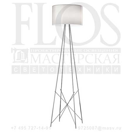RAY F2 SWITCH EUR C/DIFF.VETRO GRI F5925020 стекло, Flos