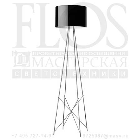RAY F2 SWITCH EUR C/DIFF.METAL.NRO F5926030 черный, Flos