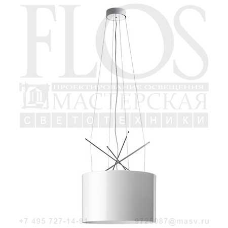 RAY S ES DIFF.METAL.BCO F5931009 белый, Flos