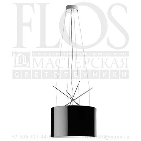 RAY S ES DIFF.METAL.NRO F5931030 черный, Flos