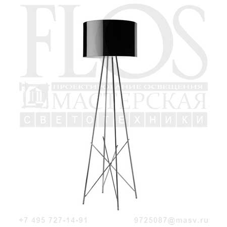 RAY F1 SWITCH EUR C/DIFF.METAL.NRO F5946030 черный, Flos