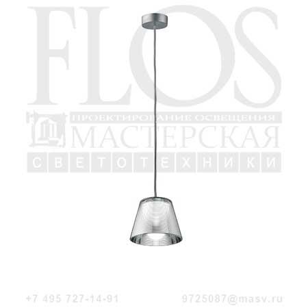 ROMEO BABE K S G9 EUR DIFF.TRAS F6125000 алюминированное серебро, Flos
