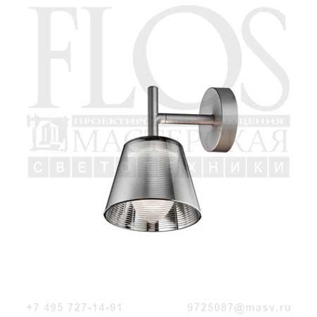 ROMEO BABE K W G9 ECS DIFF.TRAS F6191000 алюминированное серебро, Flos