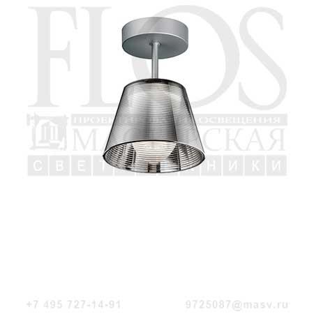 ROMEO BABE K C1 G9 EUR DIFF.TRAS F6212000 алюминированное серебро, Flos
