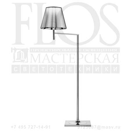 KTRIBE F1 DIM EUR CRO/ALL.ARG F6265004 алюминированное серебро, Flos