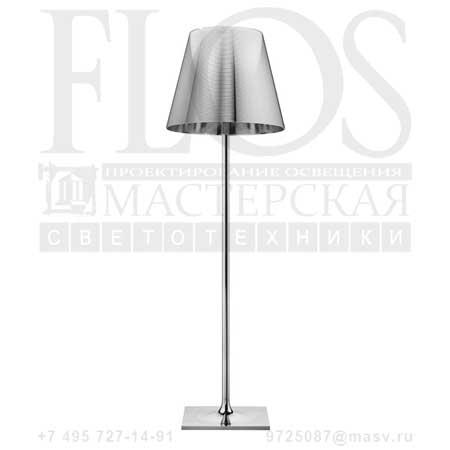 KTRIBE F3 SWITCH EUR CRO/ALL.ARG F6302004 алюминированное серебро, Flos