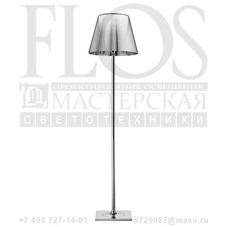 KTRIBE F2 DIM EUR CRO/ALL.ARG F6305004 алюминированное серебро, Flos