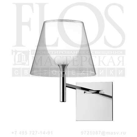 KTRIBE W DIM EUR CRO/TRASP. F6307000 прозрачный, Flos