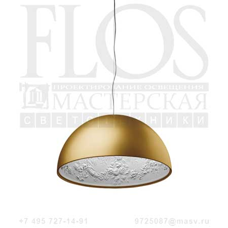 SKYGARDEN 1 ECO EUR ORO OPAL F6411044 матовое золото, Flos