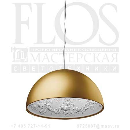 SKYGARDEN 2 ES ORO OPAL F6420044 матовое золото, Flos