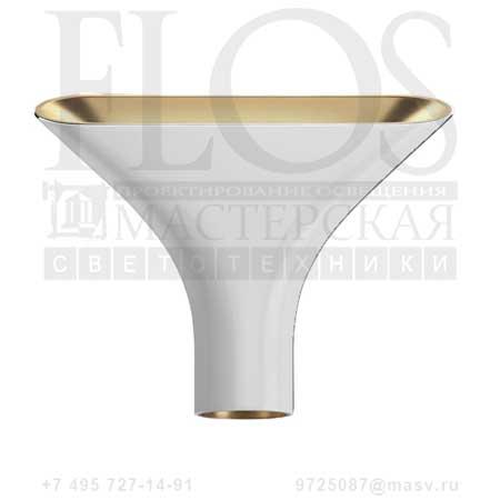 TAU EUR BCO/INT.ORO F6541009 белый - золото, Flos