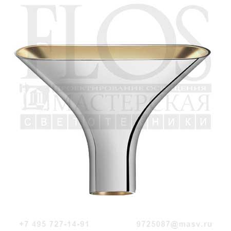 TAU EUR CRO/INT.ORO F6541057 хром - золото, Flos