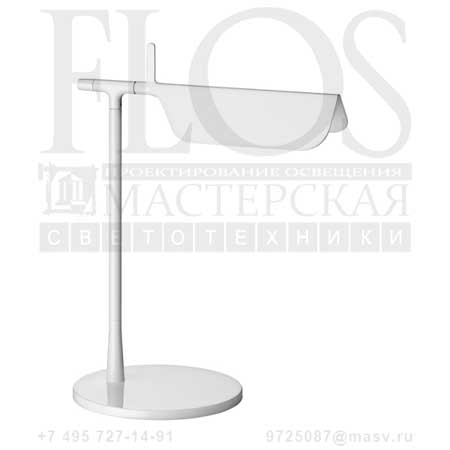 TAB T LED EUR-USA BCO F6560009 белый, Flos