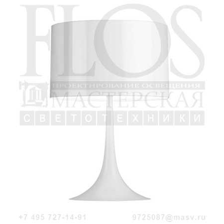 SPUN LIGHT T1 EUR BCO F6610009 блестящий белый, Flos