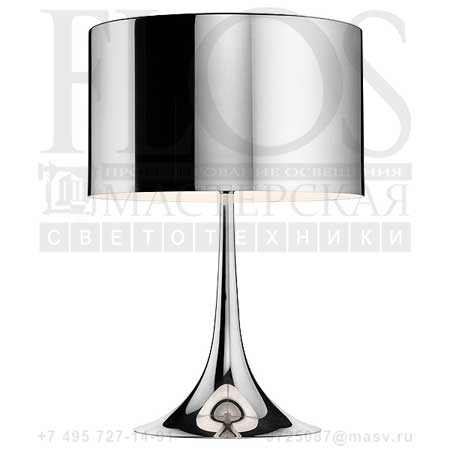 SPUN LIGHT T2 EUR ALL.LUC. F6611050 алюминий, Flos